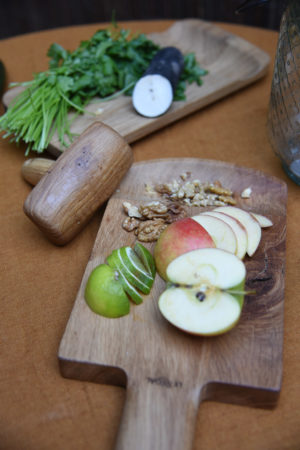Designer chopping board by Bruno Lefebvre for Le Régal