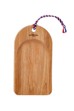Micro Pelle presentation board, a small wooden serving platter made in France