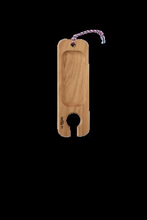 pelle a vin design en bois