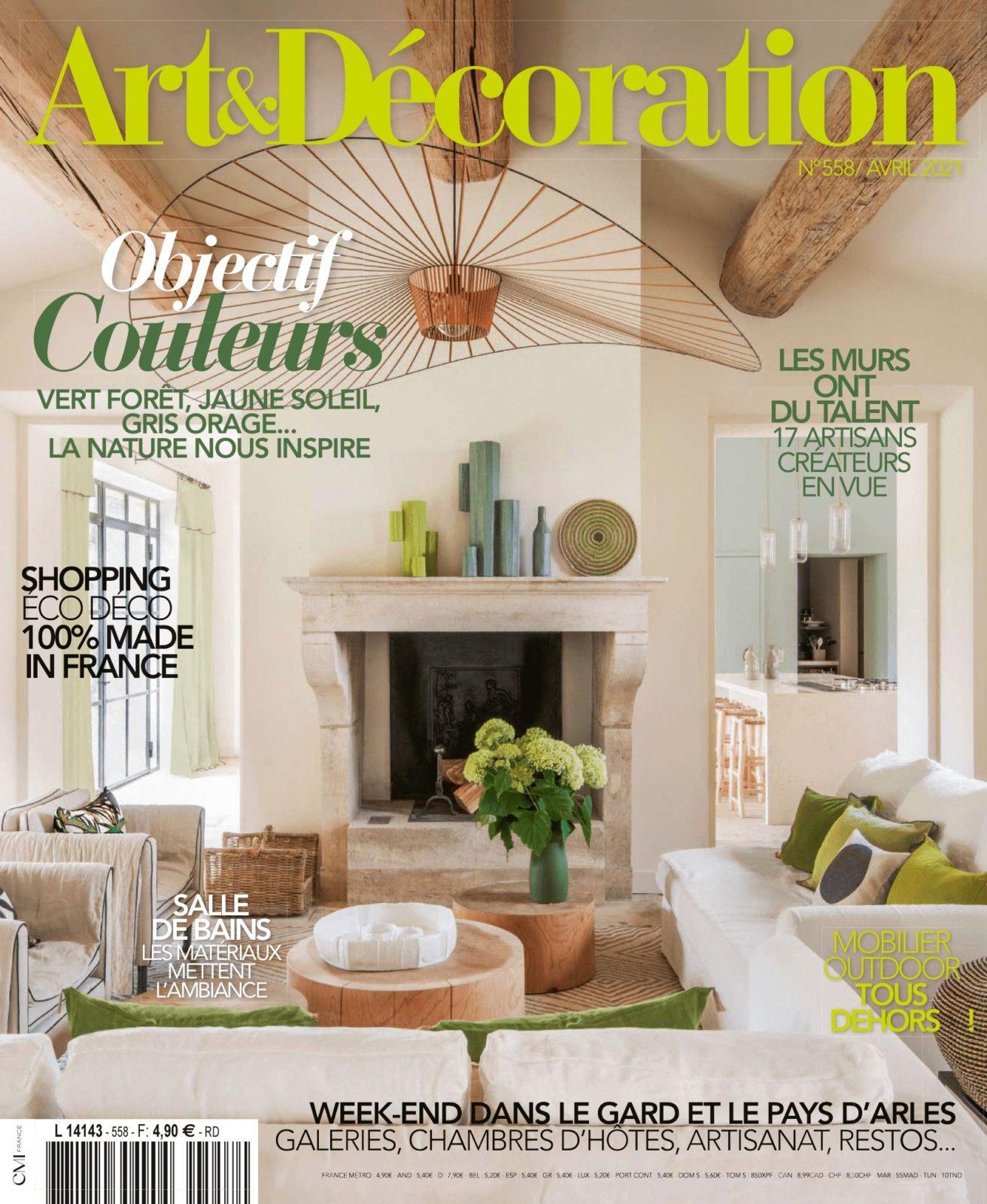 Art & décoration – Avril 2021